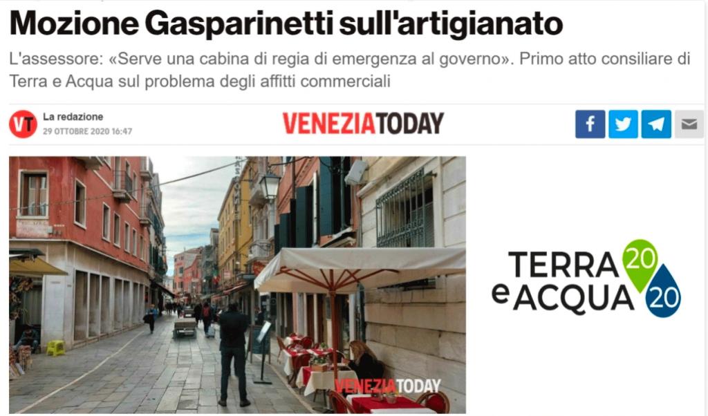 Venezia Today Artigianato